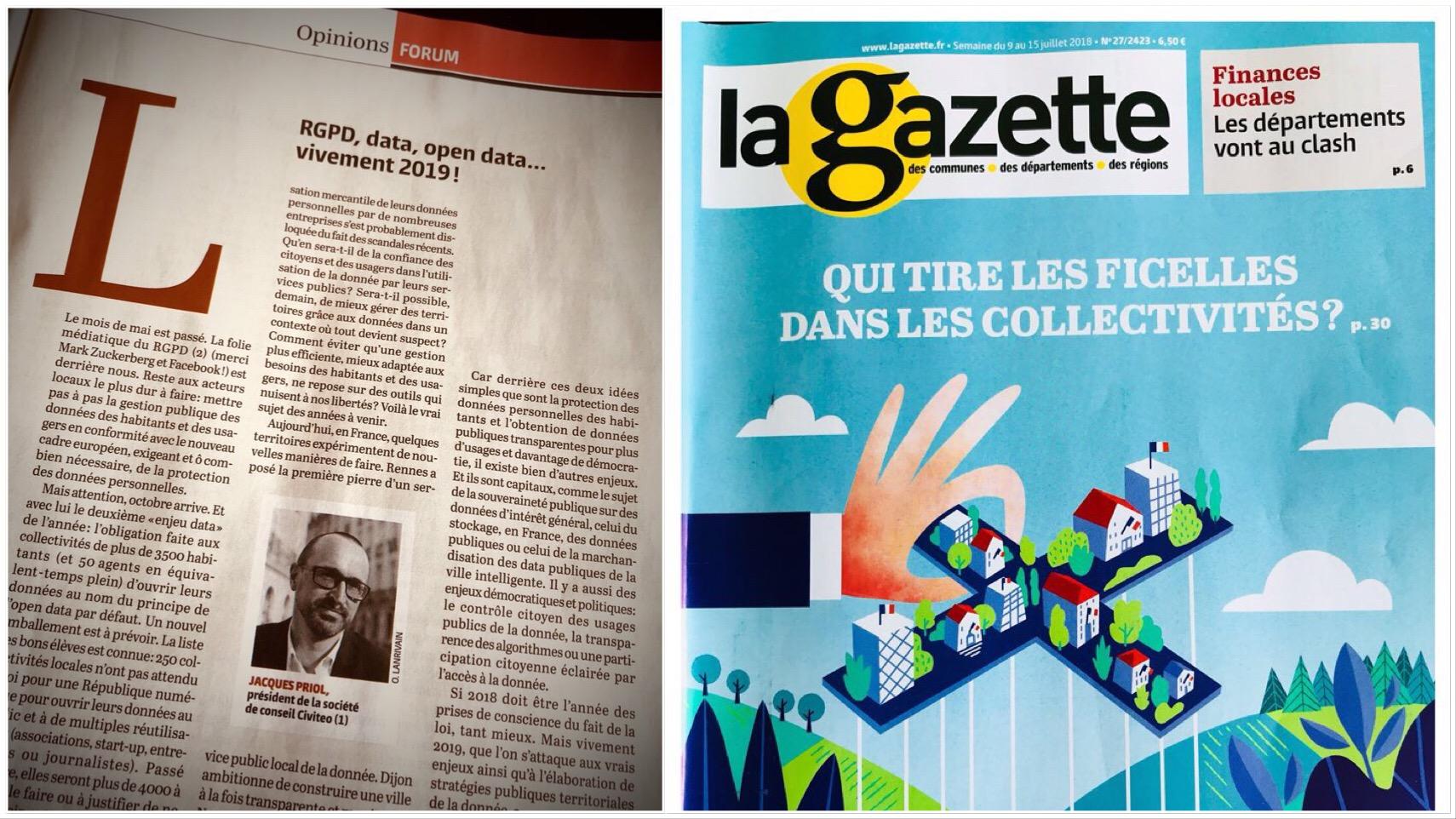 La Gazette des communes